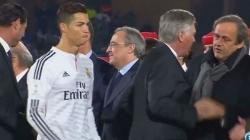 Ronaldo prošao pored Platinija kao da ne postoji, odbio mu pružiti ruku zbog prošlosti