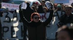 Zbog novog sistema oporezivanja: Hiljade demonstranata na ulicama Skoplja