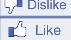 Facebook razmišlja o opciji 'dislike'