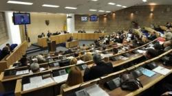 Nastavak konstituirajuće sjednice Doma naroda FBiH do kraja naredne sedmice