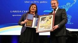 Larisa Cerić sportista godine BiH