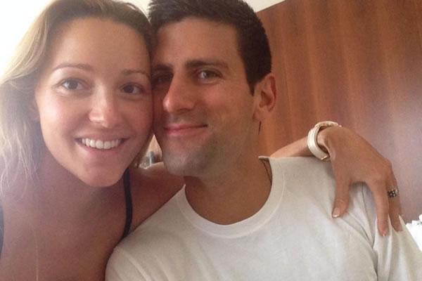 Novak i Jelena Đoković - Twitter