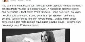 Severina o smrti Kemala Montena: Puklo mi je srce!