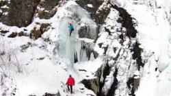 Turska: Međunarodno takmičenje u penjanju uz led