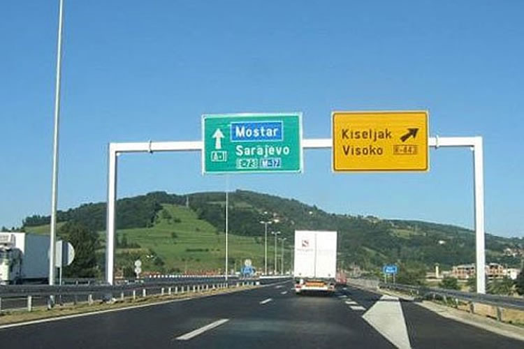 Autoput kroz BiH - JP Autoceste FBiH