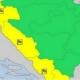 Žuti meteoalarm zbog visokih temperatura i grmljavine