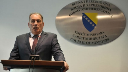 Dragan Mektić: Nećemo dozvoliti da šaka kriminalaca ugrožava sigurnost građana BiH