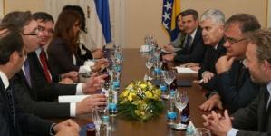 Dogovoren zajednički nastup BiH i Srbije prema EU