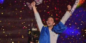 Pobjednik Eurovizije izazvao gnjev Albanaca: Stavio zastavu Albanije ispod nogu