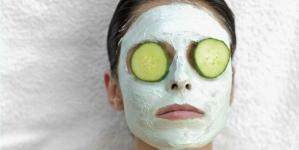 Brza maska za lice od krastavaca