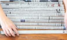 URADI SAM: Napravite korpu od starih novina