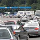 stanje na putevima pojacana frekvencija vozila na granicnim prelazima