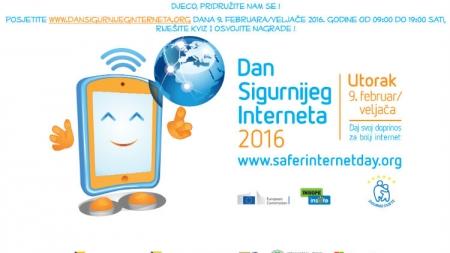 Obilježavanje Dana sigurnijeg Interneta 09.02.2016. godine u Bosni i Hercegovini