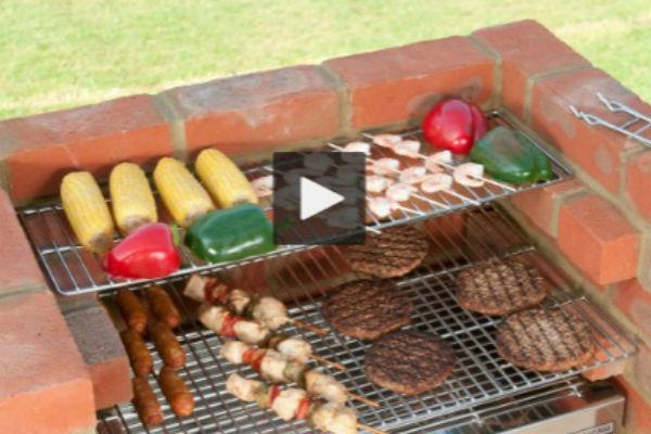 Kako napraviti prekrasni roštilj od cigle – Haber.ba
