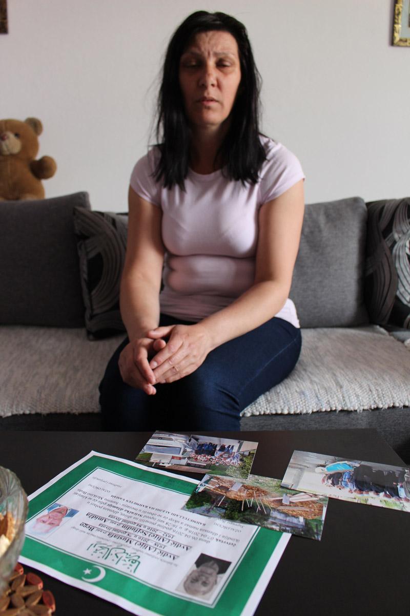 Kćerka Mustafe Avdića - Larisa ispričala nevjerovatnu priču (Foto: H.Čalić)