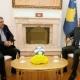 Thaci se susreo sa Vokrrijem: Što prije početi izgradnju novog stadiona u Prištini