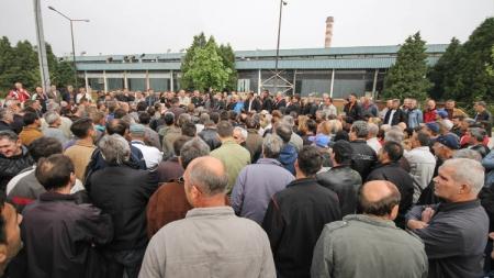 Zavidovići: Radnici Krivaje prijete štrajkom glađu i samospaljivanjem