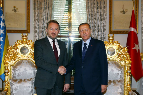 Bakir Izetbegović i   Recep Tayip Erdogan -Faktor