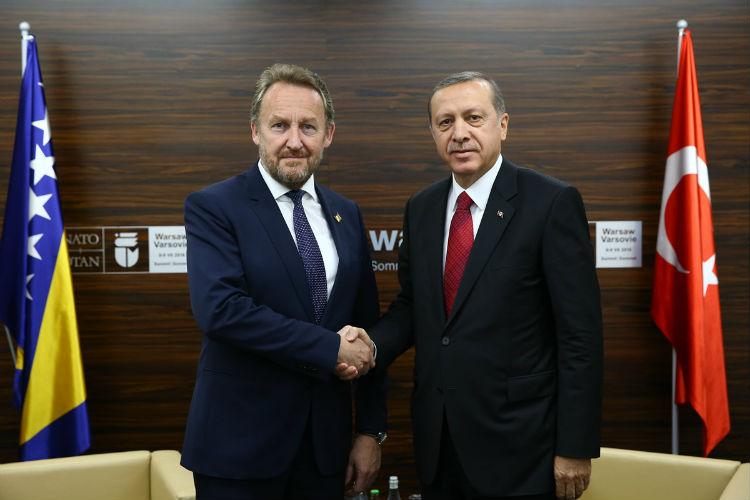 Izetbegović Erdogan