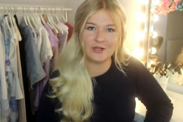 Vlogerka Jeely - Screenshot: YouTube