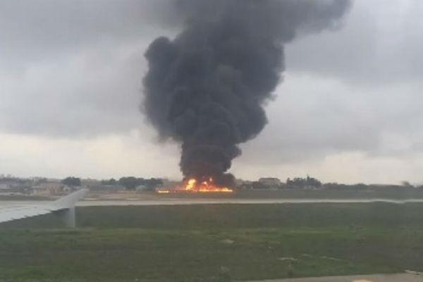 pao avion na malti poginulo najmanje pet eu funkcionera