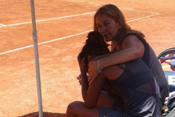 otac joj preminuo na tribinama dok je ona igrala tuga do neba na teniskom mecu