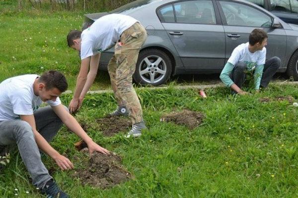 ekoloska akcija youth earth day u pozarnici