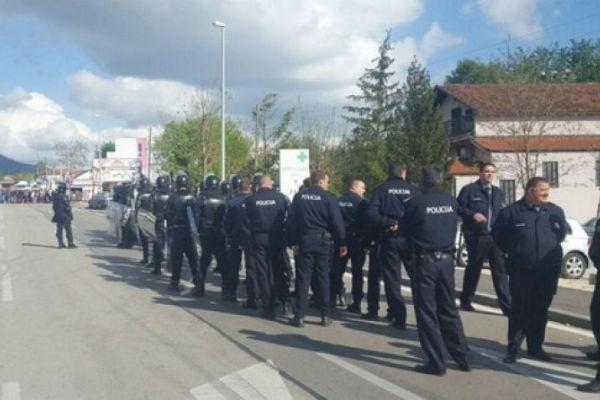 policija rastjeruje branitelje na gp bijaca intervenisala hitna pomoc objavili su nam rat
