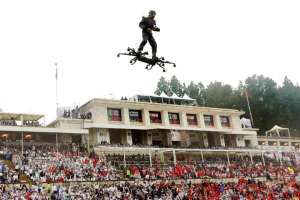spektakularno covjek na dronu donio loptu za finale portugalskog kupa