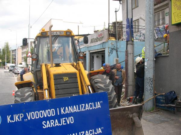 sarajevskom vodovodu pripala finansijska injekcija teska 25 miliona eura