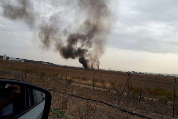 spanija srusio se vojni avion u vazduhoplovnoj bazi