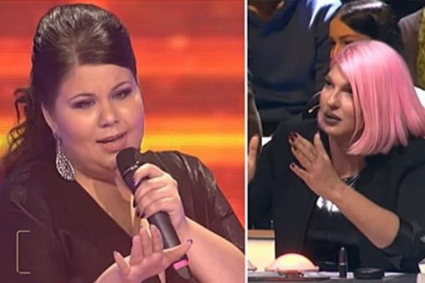 ima preko 100 kilograma dobila je svih 7 glasova a kada je karleusa ugledala usljedio je komentar koji nikad nikome nije rekla