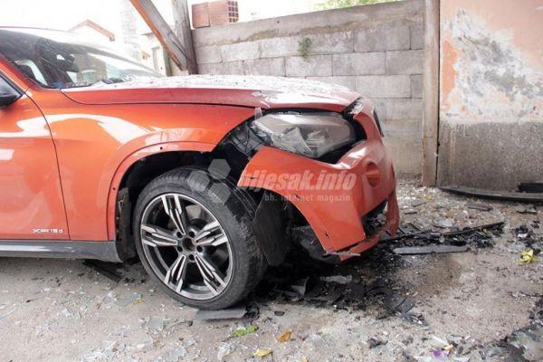 u mostaru eksplodirala bomba postavljena ispod automobila