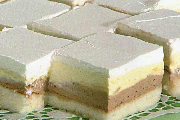 Rezultat slika za LEDENA TORTA SA PUDINGOM OD VANILIJE I ČOKOLADE KOJA ĆE VAS OBORITI SA NOGU