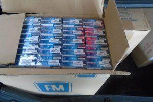 Pripadnici Jedinice granične policije Bosanska Gradiška zaplijenili 25.000 kutija cigareta i 33 kilograma duhana