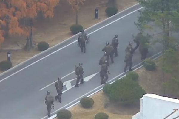 un objavio snimak bijega sjevernokorejskog vojnika
