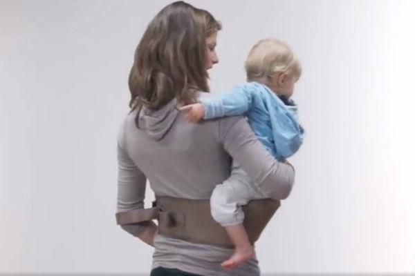 izmislili su pojas za lakse nosenje djeteta