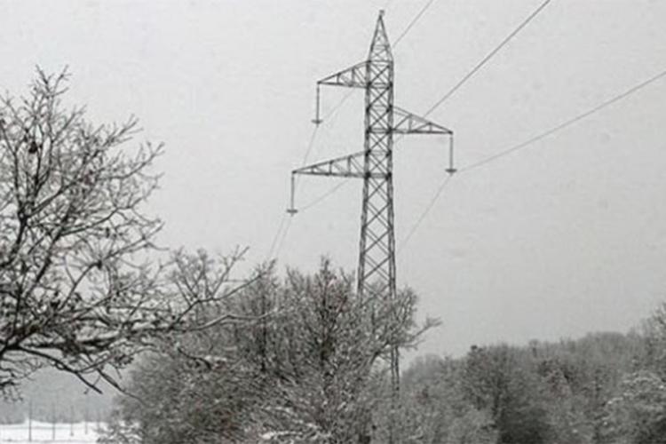 foca opet bez struje kvarove izazvao snijeg