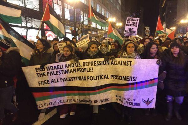 demonstranti u chicagu sad i izrael klonite se jerusalema