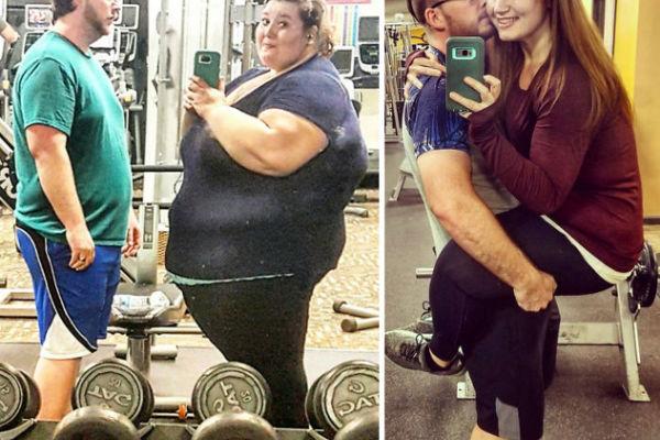 nevjerovatna transformacija supruznici za 18 mjeseci izgubili 180 kilograma