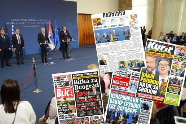 srbijanski mediji bakir sam protiv svih tabloid informer blizak vucicu ostao bez naslovnice
