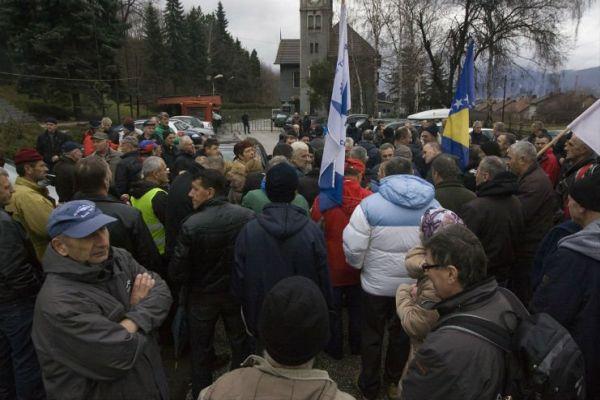 zenicki rudari stupili u strajk gladu