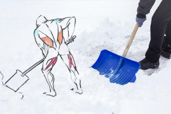 Slikovni rezultat za čišćenje snijega kalorije