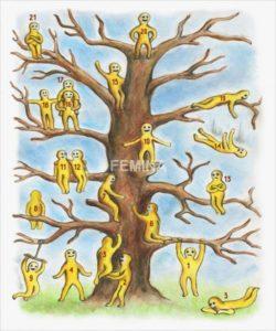 Psiho-emotivni test: Svaki od ovih čovječuljaka na stablu ima različito raspoloženje – koji ste VI?