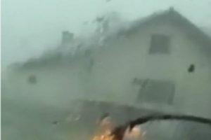 Snažan vjetar i grad poharao općinu Srbac