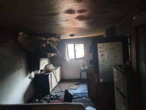 Dok su drugi proslavljali Novu godinu, samohrani otac u sekundi izgubio kuću