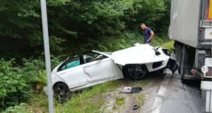 Teška saobraćajna nesreća na magistrali Gornji Vakuf – Prozor