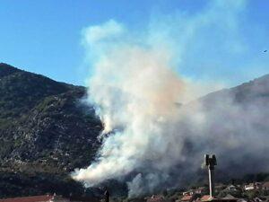 Požar u Trebinju, gašenje otežava vjetar