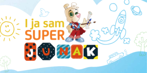 """Super Štek nagradio najkreativnije dječije radove na temu """"I ja sam super junak"""""""