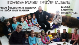 """Nermin i Erna iz Tuzle imaju devetero djece: """"Oni su naše najveće bogatstvo"""""""